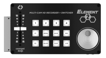 Convergent Design Element 2 Multi-Camera HD Recorder and Switcher