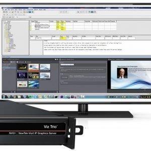 NVG1 Viz Trio with Desktop