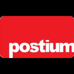 Postium Logo in Red