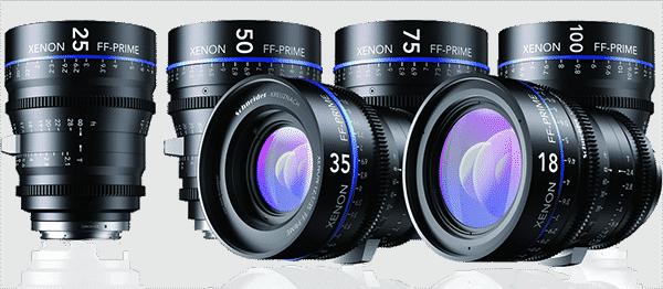 Schneider Optics Xenon FF-Prime Lenses