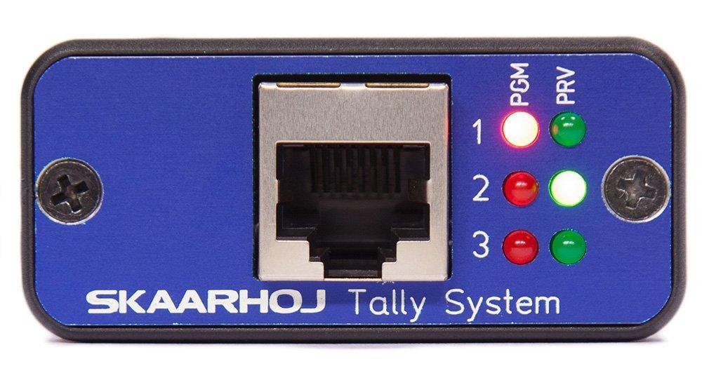 Skaarhoj Micro Tally System