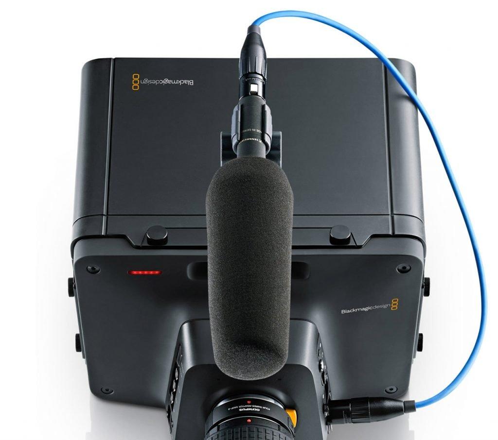 Blackmagic Studio Camera 4K Microphone