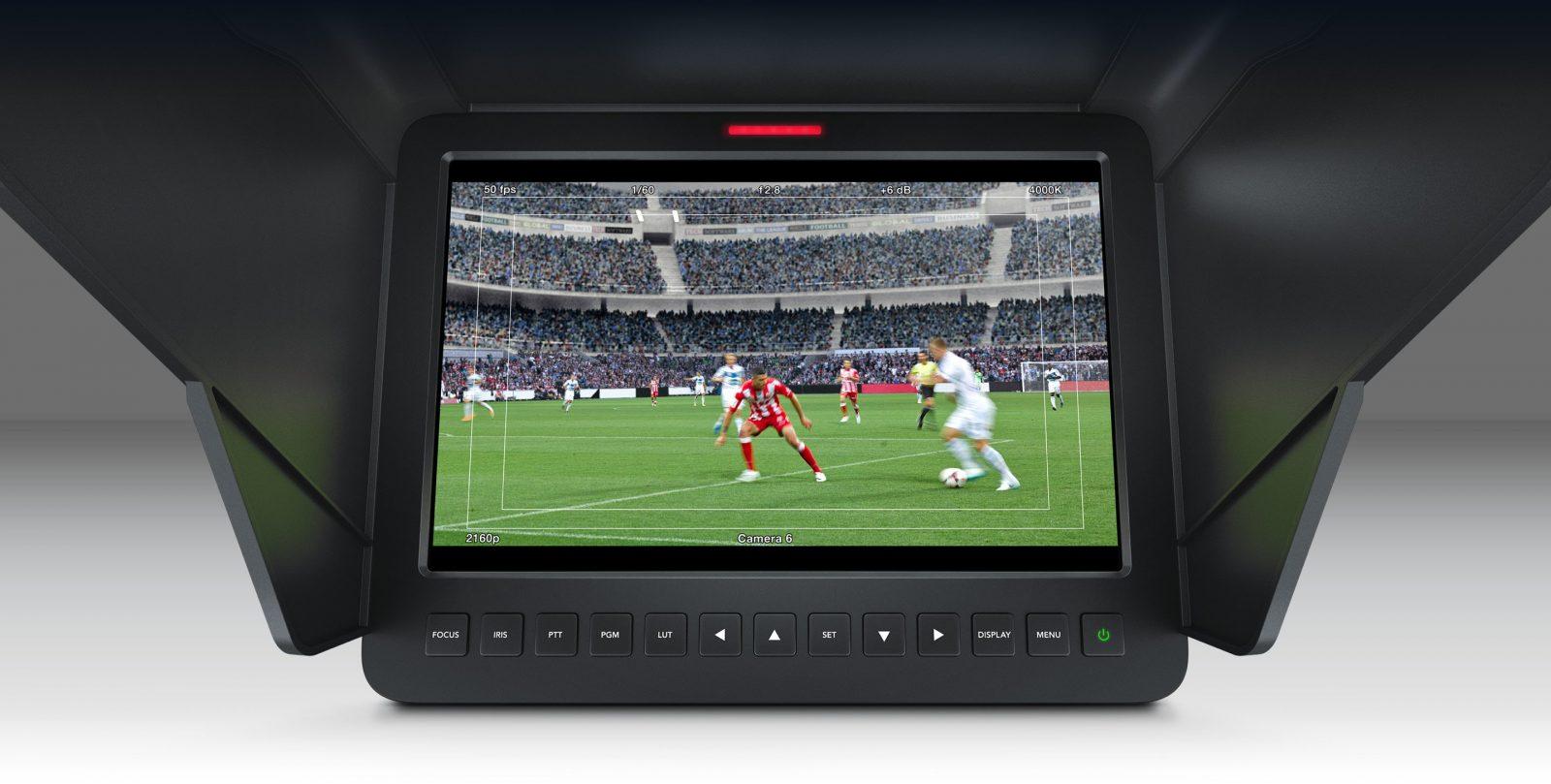 Blackmagic Studio Camera 4K Screen