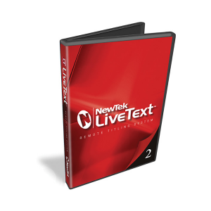 NewTek LiveText 2.5 Upgrade Download