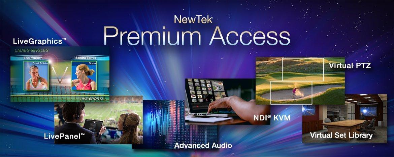 Premium Access Header