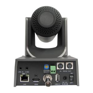 PTZOptics 12x NDI PTZ Camera (Grey)