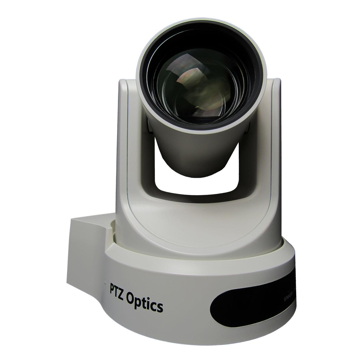 PTZOptics 12x NDI PTZ Camera (White) PT12X-NDI-WH