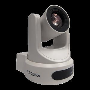 PTZOptics 20x NDI PTZ Camera (White)