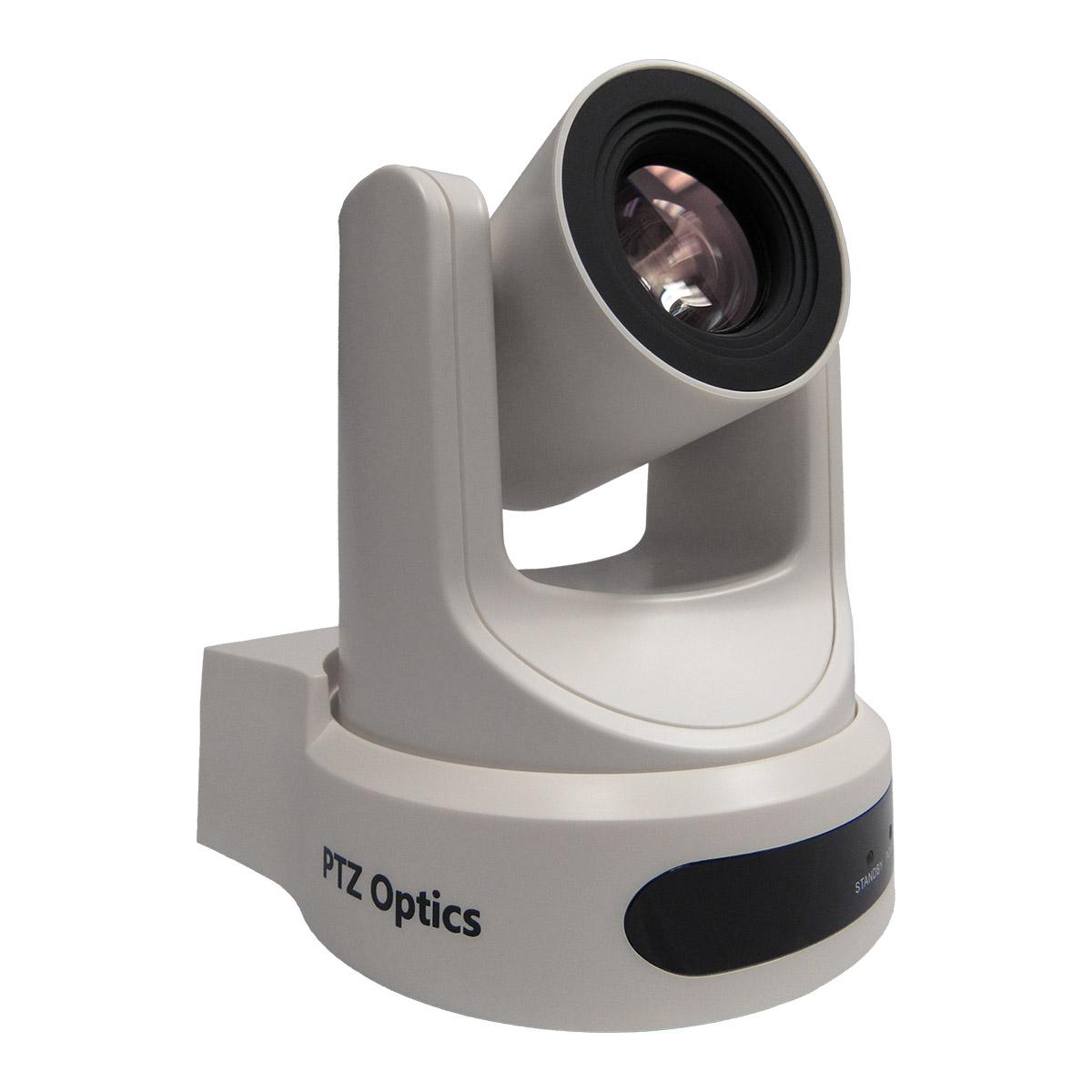 PTZOptics 20x NDI PTZ Camera (White) PT20X-NDI-WH