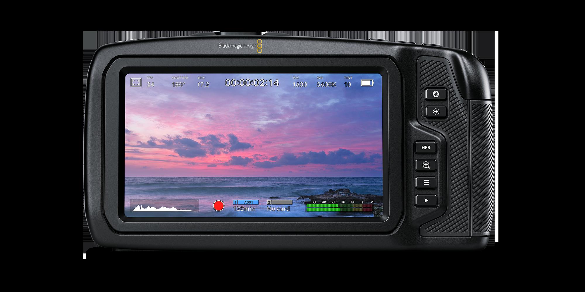 Blackmagic Pocket Cinema Camera 4K Screen
