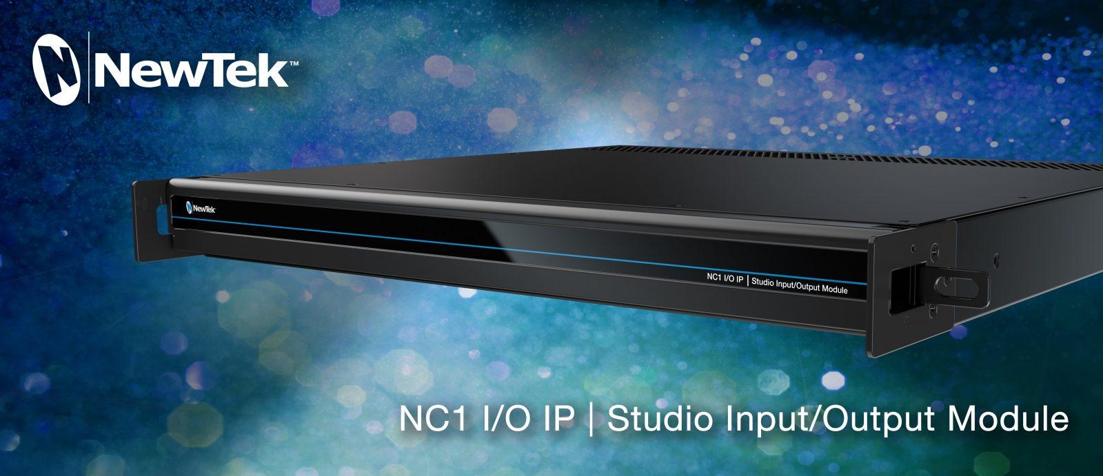 NewTek Studio NC1 I/O IP Header