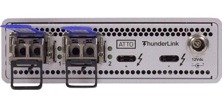 ThunderLink® NS 3102 (SFP+) 40Gb/s Thunderbolt™ 3 (2-port) to 10GbE (2-Port)