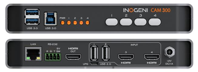 Inogeni CAM 300 Connections