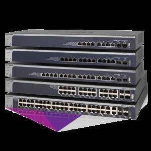 Netgear 10-Gigabit Smart Managed Pro Switch Series XS7xxT
