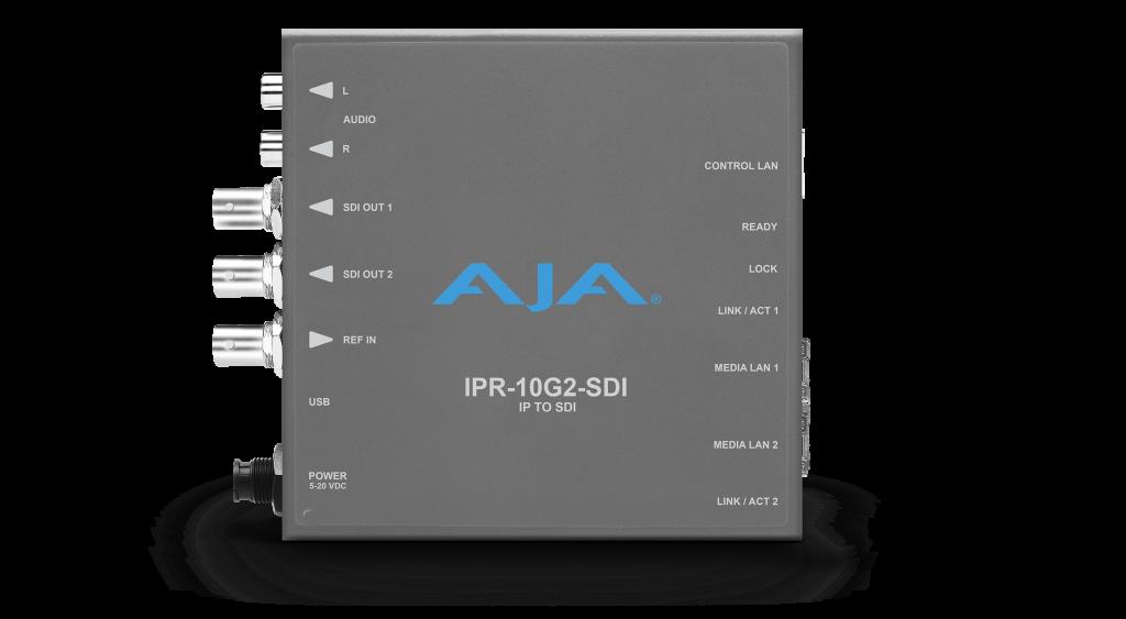 AJA IPR-10G2-SDI Front