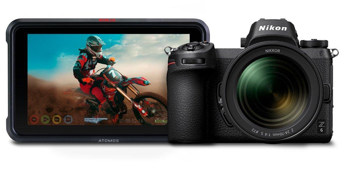 Nikon Z6 and Atomos Ninja V