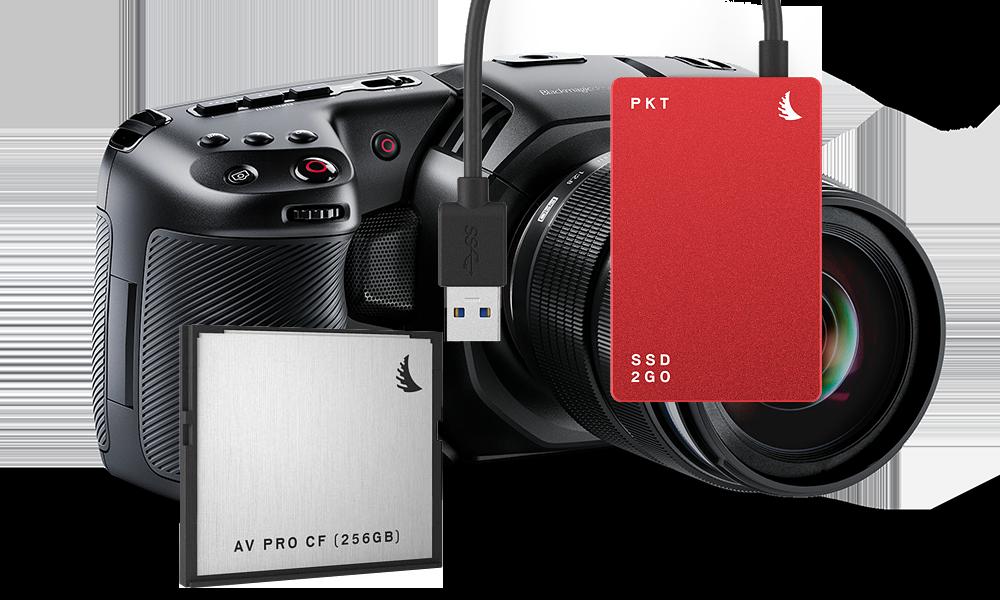 Angelbird Match Pack for Blackmagic Pocket Cinema Camera 4K