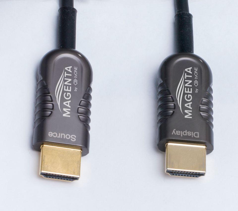 Magenta HDMI Active Optical Cable Connectors AOC-661-xxx