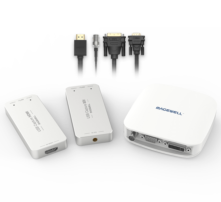Magewell USB Capture Options
