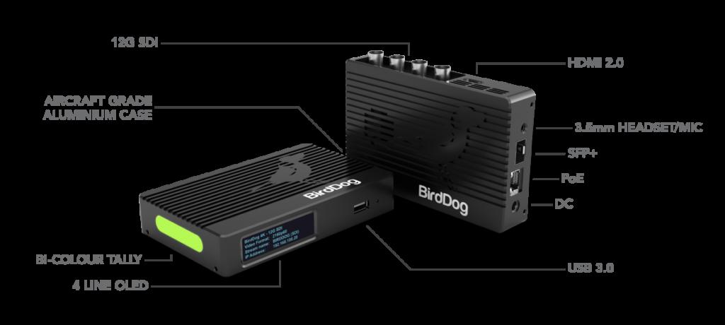 BirdDog 4K Family Specs