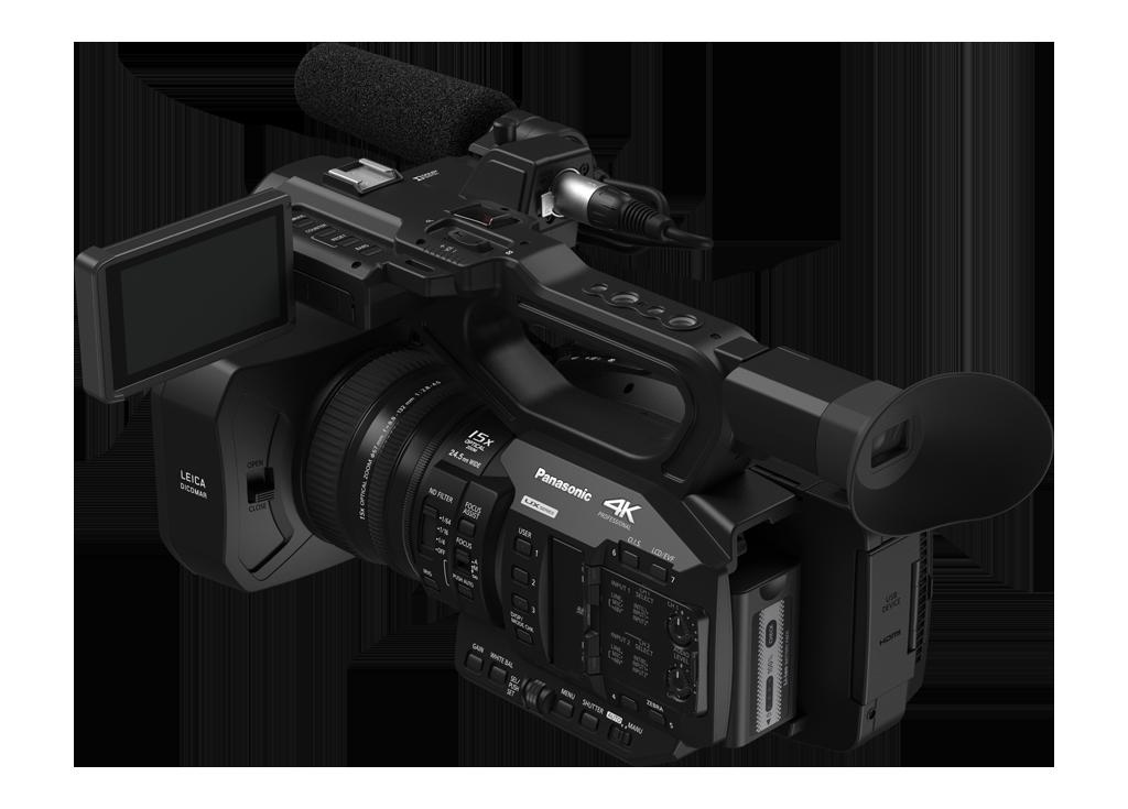 Panasonic AG-UX90 Rear Angle