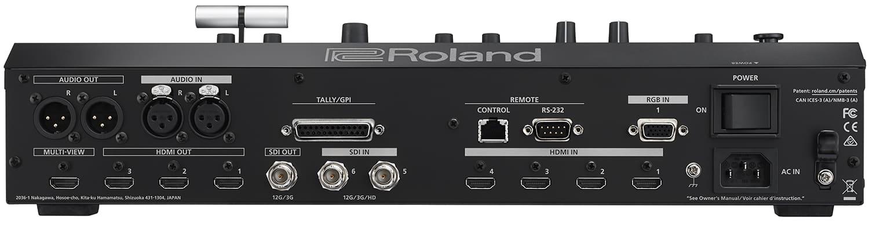 Roland V-600UHD Connectors