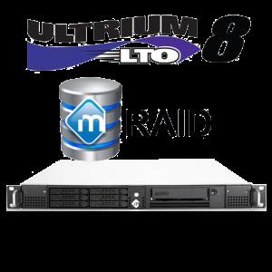 mRack DIT Thunderbolt 3 with mRaid and LTO8