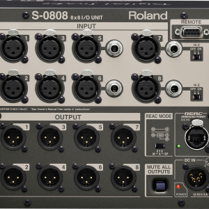 Roland S-0808 Digital Snake Connections