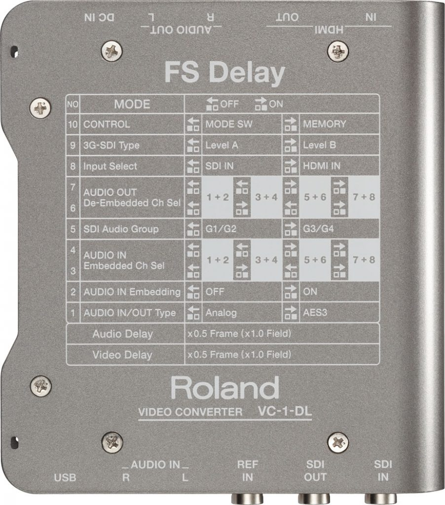Roland VC-1-DL Bottom