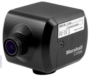 Marshall CV506 Miniature Camera Angle