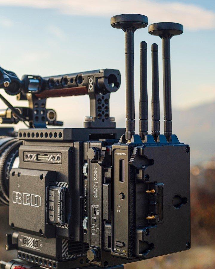 Teradek Bolt 4K MAX on Camera