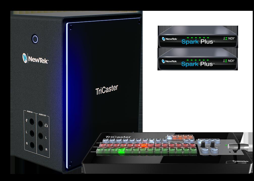 TriCaster Mini 4K NDI Travel Bundle