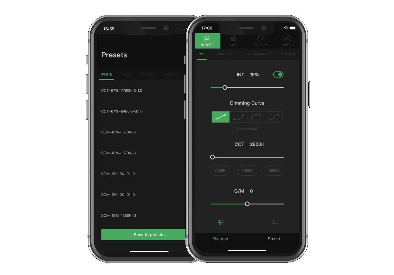 Aputure Sidus Link App
