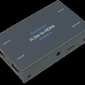 Pro Convert H.26x to HDMI Angle
