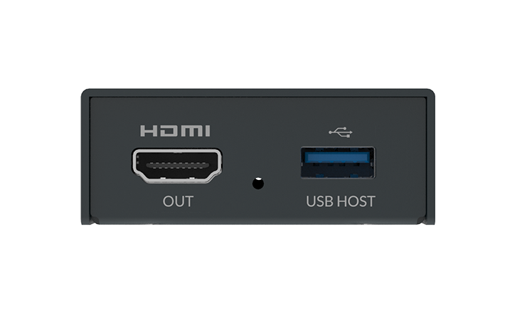 Pro Convert H.26x to HDMI Connections 1